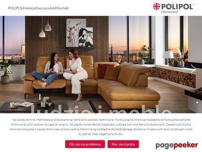 Polskie meble tapicerowane i skórzane - Polipol