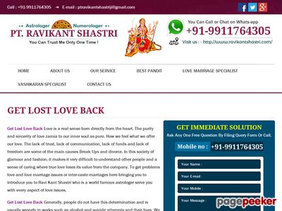 Read more about: https://www.ravikantshastri.com/get-lost-love-back.php