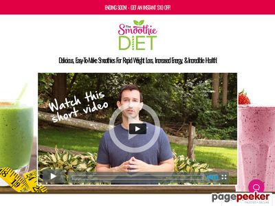 SPECIAL OFFER! – Get $10 OFF The Smoothie Diet