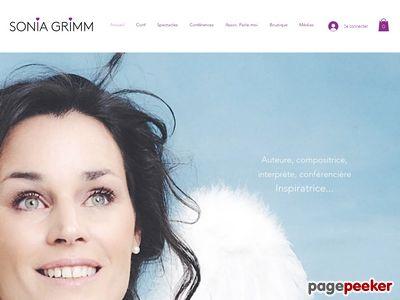Sonia Grimm, chanteuse pour enfants - A visiter!