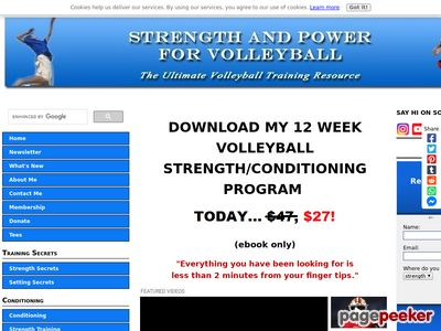 Volleyball Training Programs – #1 World Wide Volleyball Strength Program