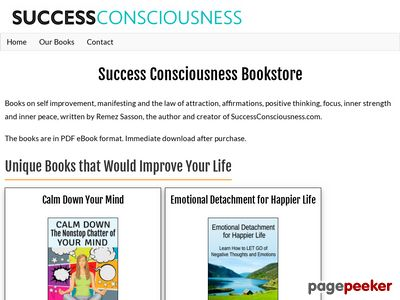 Success Consciousness Bookstore – Books to Upgrade Your Life