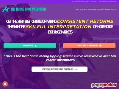 The Horse Race Predictor – Advanced Winning Methods – The Horse Race Predictor