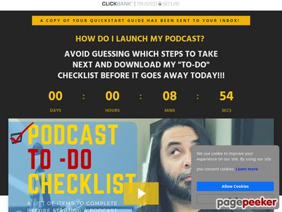 "Podcast ""To-Do"" Checklist – Warm"