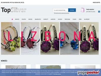 Biżuteria Srebrna - Sklep Internetowy TopSilver