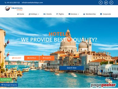 TRAVELIA HOLIDAYS PRIVATE LIMITED