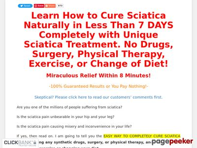 Sciatica Treatment: Cure Sciatica in Just 8 Mins – Treat Sciatica Now