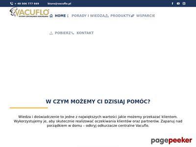 Vacuflo.pl systemy centralnego odkurzania