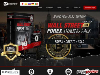 WALLSTREET FOREX ROBOT 2.0 EVOLUTION – THE OFFICIAL WEBSITE