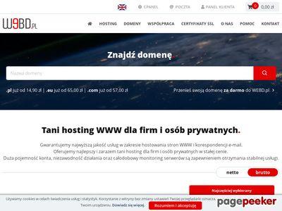 Hosting stron - Webd.pl