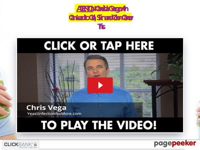 Yeast Infection No More Video – Heal Candida Overgrowth