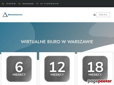 Biznes Centrum biuro wirtualne