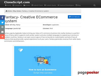 https://clonescript.com/etsy-clones/fantacy-creative-ecommerce-system-1027 website snapshot