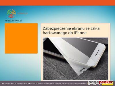 Szkła hartowane | conwin.pl