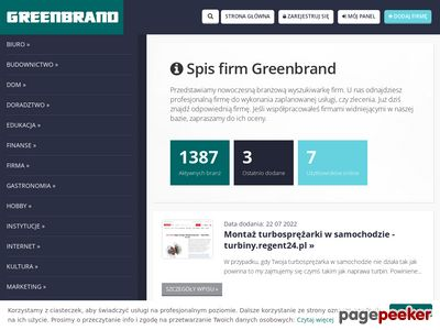 Greenbrand.pl spis firm