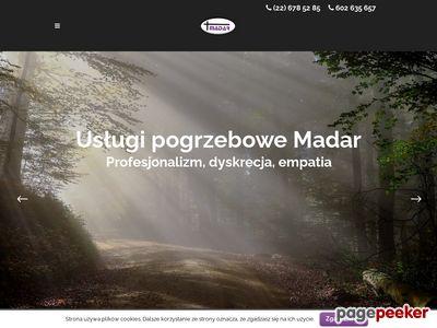 Madar-uslugi-pogrzebowe.pl - zakład pogrzebowy Warszawa