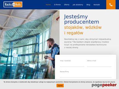 Stojaki do przewozu okien - Racks and Rolls