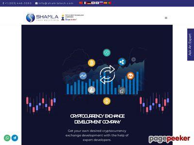 https://shamlatech.com/cryptocurrency-exchange-development/#contact-us website snapshot