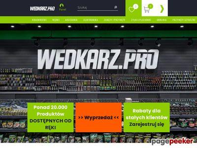 Internetowy sklep wędkarski - wedkarz.pro