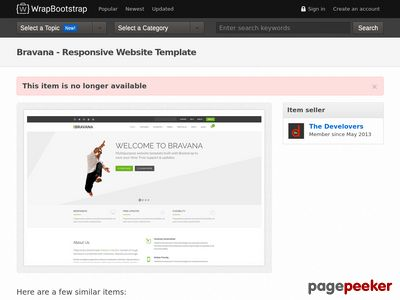 https://wrapbootstrap.com/theme/bravana-responsive-website-template-WB0D6B38R?ref=scriptgiver website snapshot