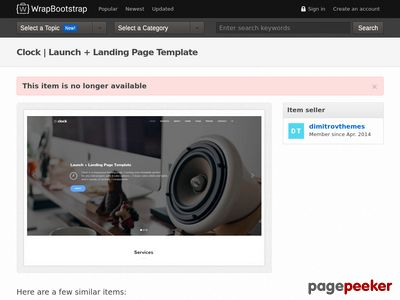 https://wrapbootstrap.com/theme/clock-launch-landing-page-template-WB057LB38?ref=scriptgiver website snapshot