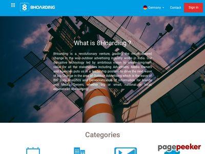 Details : 8Hoarding - Outdoor Media Booking Platform   Hoarding Advertising Services   Fixed Media Advertising