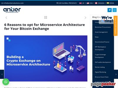 https://www.antiersolutions.com/6-reasons-to-opt-for-microservice-architecture-for-your-bitcoin-exchange/ website snapshot