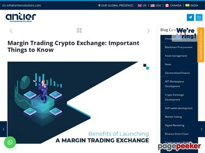 https://www.antiersolutions.com/margin-trading-crypto-exchange-important-things-to-know/ website snapshot