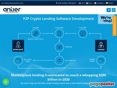 https://www.antiersolutions.com/p2p-lending-software-development/ website snapshot
