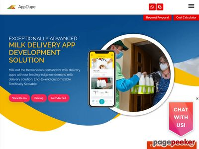 https://www.appdupe.com/milk-delivery-app-development website snapshot