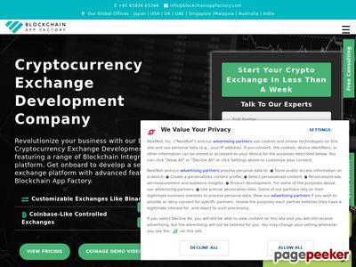 https://www.blockchainappfactory.com/cryptocurrency-exchange-software website snapshot
