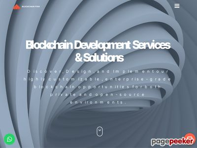 https://www.blockchainfirm.io/best-platforms-for-launching-an-ico website snapshot