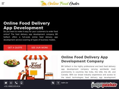 https://www.brsoftech.com/br-food-ordering/ website snapshot