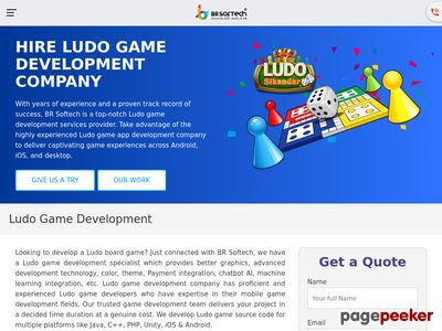 https://www.brsoftech.com/ludo-game-development.html website snapshot