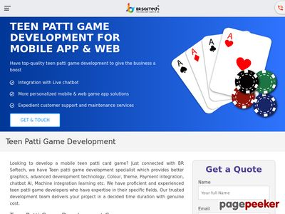 https://www.brsoftech.com/teen-patti-game-development.html website snapshot