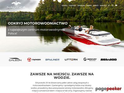 Centrum Nautica - sprzedaż, czarter jachtów i łodzi Mazury