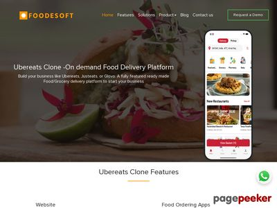 https://www.foodesoft.com website snapshot