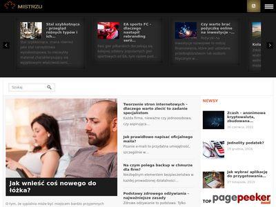 Mistrzu.com serwis informacyjny