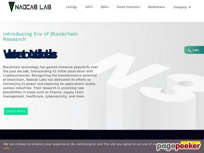 https://www.nadcab.com website snapshot