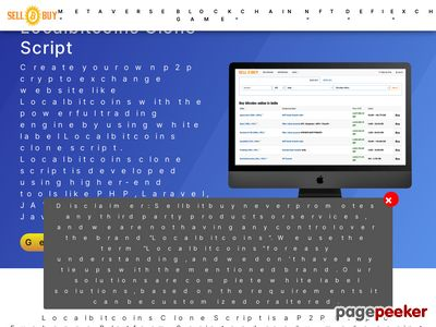 https://www.sellbitbuy.net/localbitcoins-clone-script website snapshot