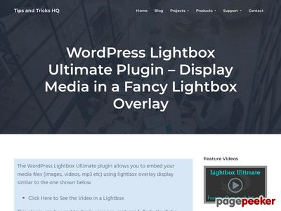 https://www.tipsandtricks-hq.com/wordpress-lightbox-ultimate-plugin-display-media-in-a-fancy-lightbox-overlay-3163?ap_id=scriptgiver website snapshot