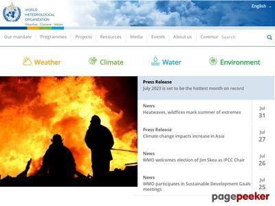 世界气象组织(WMO)