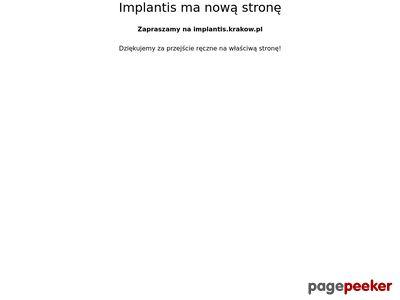 Stomatolog z Krakowa, implanty zębów