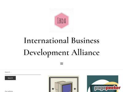 International Business Development Alliance  -  About IBDA О МАРБ