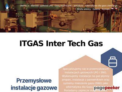 ITGAS Inter Tech Gas - przemysłowe instalacje gazowe lpg, miksery gazowe LPG