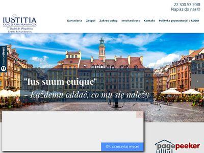Iustitia - kancelaria radcy prawnego Warszawa