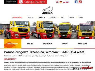 Holowanie TIR Wrocław