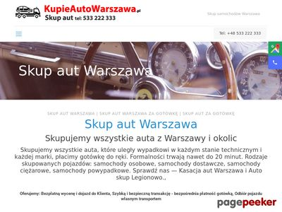 Pomoc drogowa Warszawa, holowanie - Auto-Pomoc Graczkowski