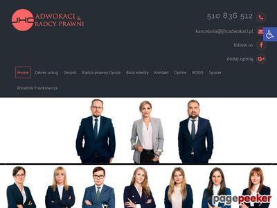 Adwokat Opole JHC Adwokaci
