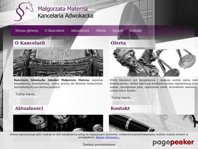 kancelaria-materna.com Odszkodowanie adwokat Warszawa